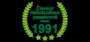 Eleveur Heliciculteur 1991