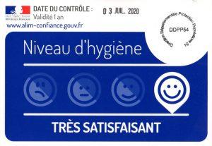 contrôle hygiène